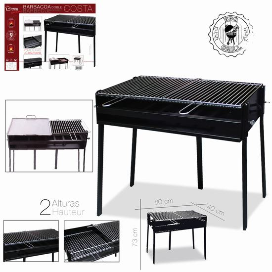 BARBECUE COSTA 80 x 40 x H 73 cm