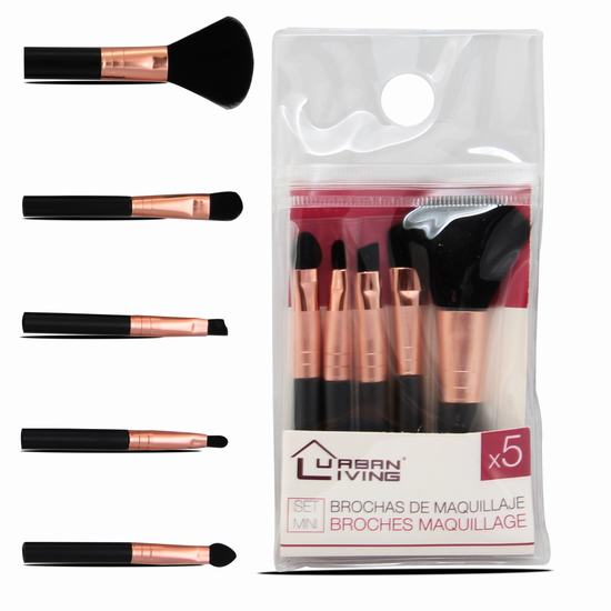5PK MINI BRUSH SET