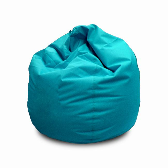 POUF TURQUOISE