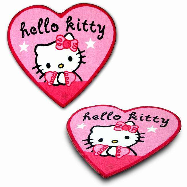 MAT 86 X94 HELLO KITTY HEART