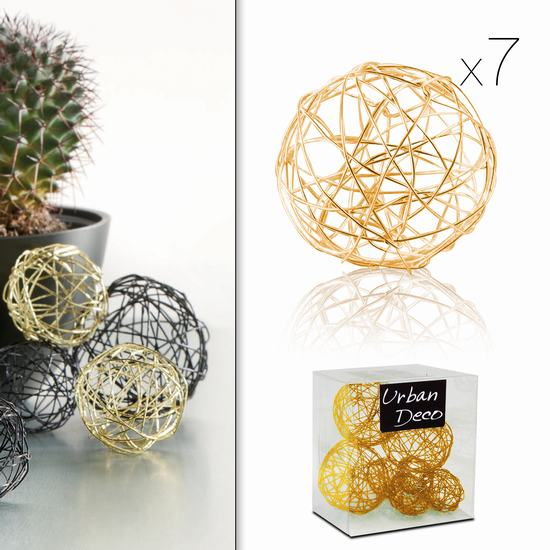 METAL WIRE BALL GOLD