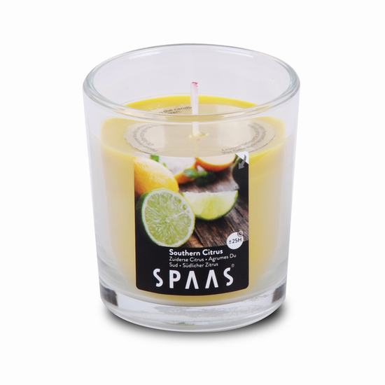 CANDLE IN GLASS CITRIC