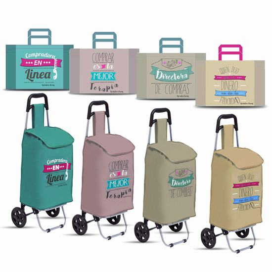 CARROS Y BOLSAS CON FRASES BY URBAN LIVING